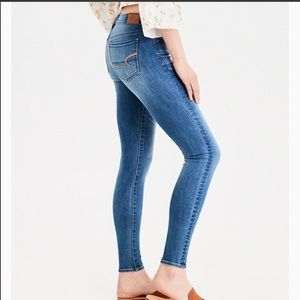 American Eagle Super Stretch Skinny Light Jeans-4